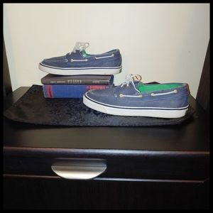 Sperry Blue Topsiders
